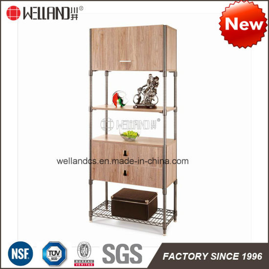 Fashion Designs Small Solid Steel Wooden Furniture Used for Living Room or Office Room pictures & photos