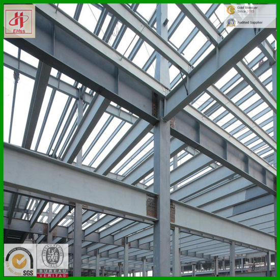 Steel Structure Design of Auto 4s Shop pictures & photos