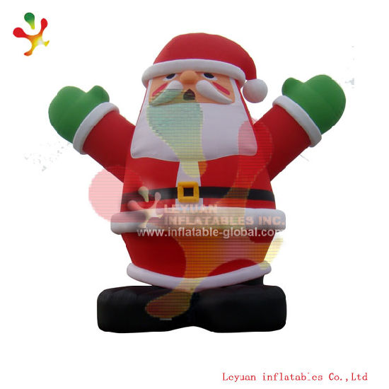 2018 new year inflatable santa inflatable christmas decoration