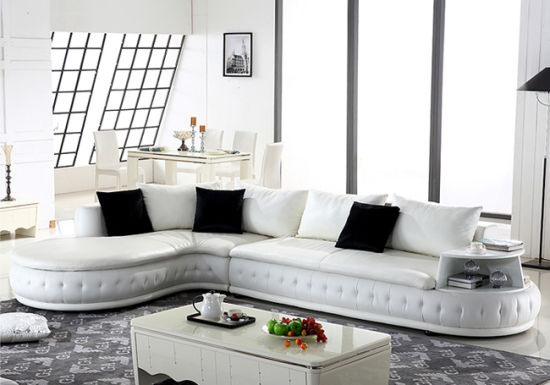 China Modern Style Leather Sofa Top Grain Leather Sofa F226 ...