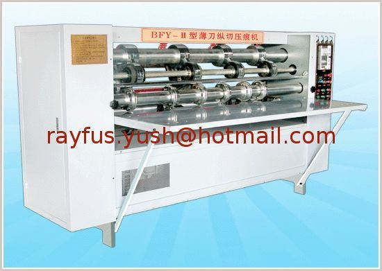 Thin Blade Slitter Creaser Machine pictures & photos