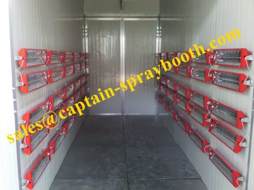 Powder Coating Booth, High Temperature Spray Booth pictures & photos