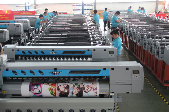 for Outdoor&Indoor Advertising Printing 1.8 M Wide Format Inkjet Printer, 1440 Dpi pictures & photos