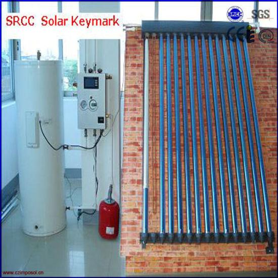 Split U Pipe Solar Heating System