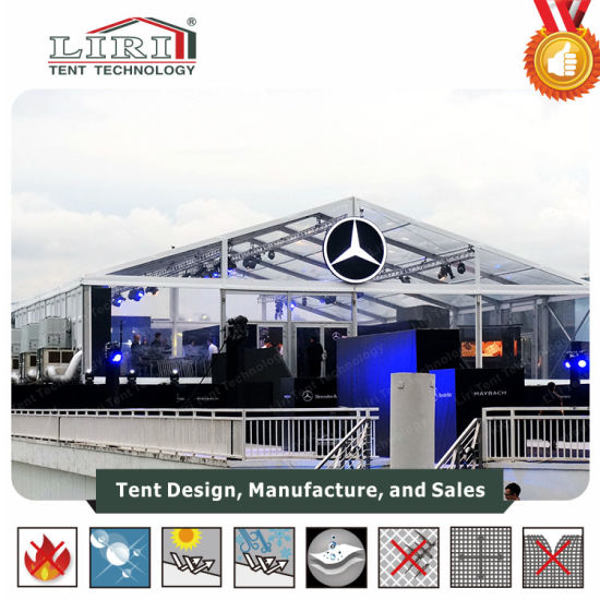 China 20X30 Guangzhou Wholesale Clear Roof Transparent Marquee Party
