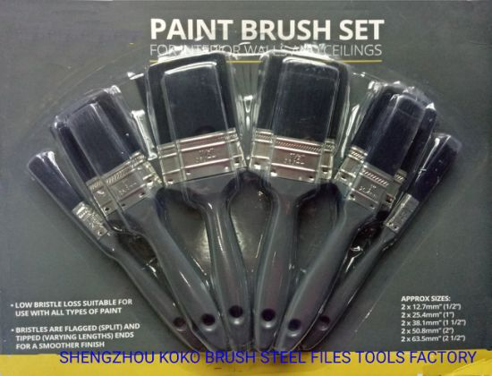 10pcs Interior Walls And Ceilings Paint Brush Set