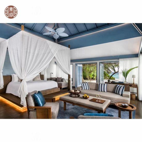 Modern Branded Maldives Hotel Beach Villa Bedroom Furniture