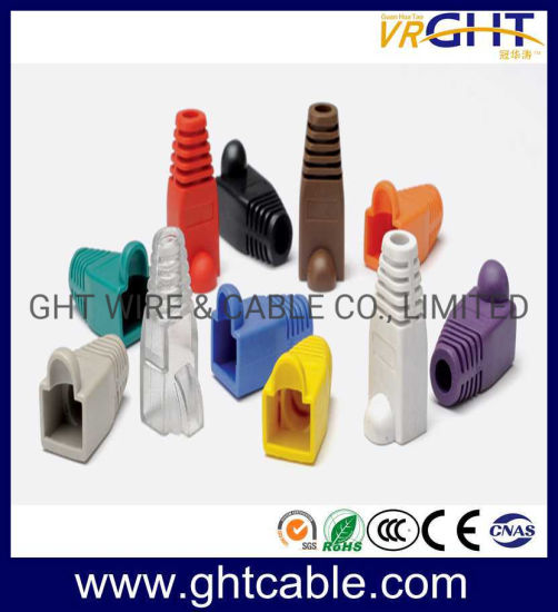 20 RJ45 Cat5e Cat6e Ethernet network cable connector end of the plug cover boots