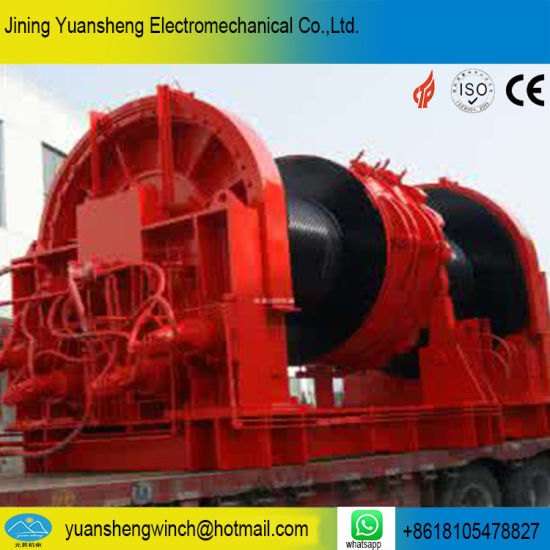 China Marine Hydraulic Winch for Boat Mooring and Anchor