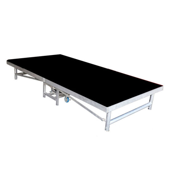 Stage Platform Aluminum Mobile Stage Portable Stage Folding Stage