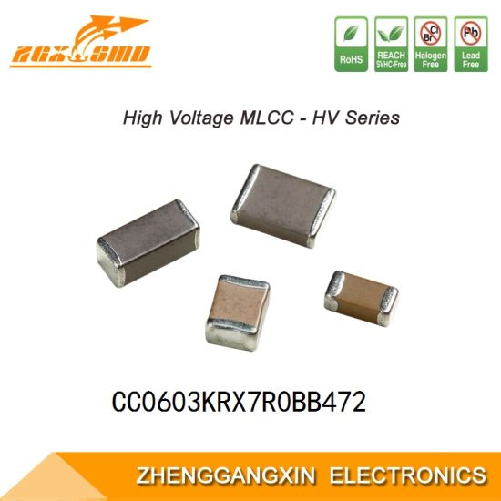 0603 X7r 4.7nF ± 10% 100V SMD Multilayer Chip Ceramic Capacitor Mlcc Electronic Component.