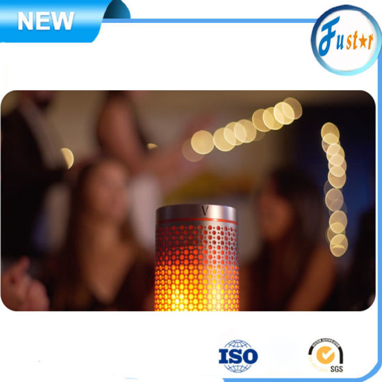 Hi-Fi Level Sound Flame Show Portable Bluetooth PA Speaker