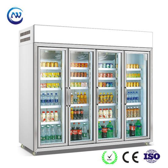 Beverage Glass Door Cooler Refrigeration Unit (LG-135)