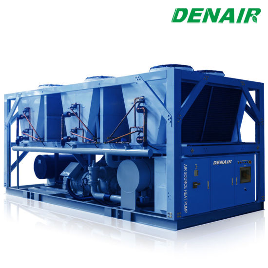 Industrial Hot Water Modular Air Source Heat Pump for Chemical Plant