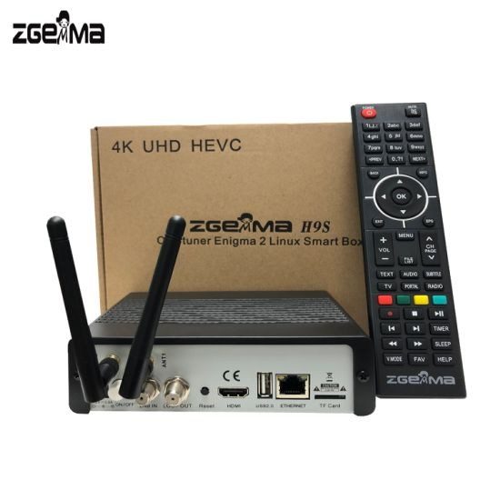 Zgemma H9s with WiFi DVB-S2X 4K UHD Satellite Receiver