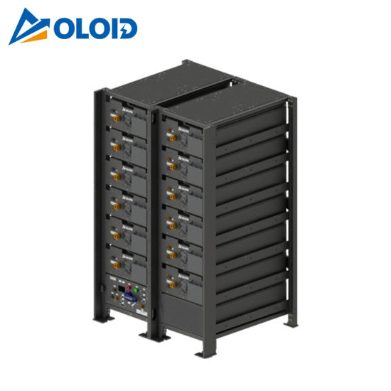 208kwh Solar Rechargeable Li-ion LiFePO4 Lithium Storage Battery with BMS