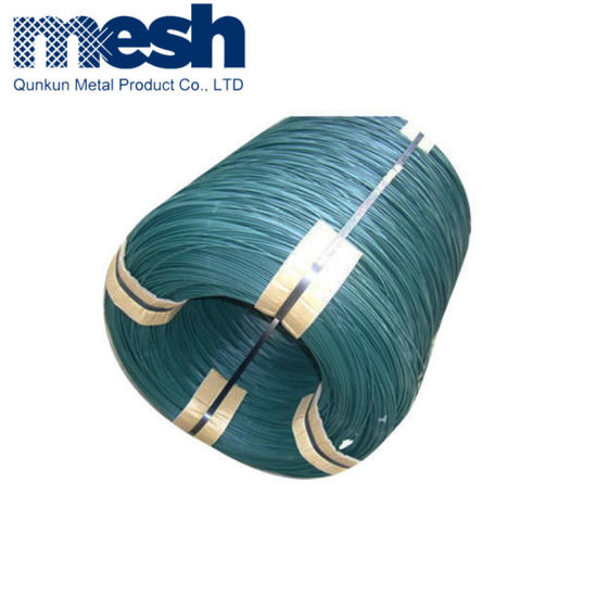 Cheap Price Wholesale High Quality 3mm Diameter PVC Coated Galvanized Binding Steel Iron Wire