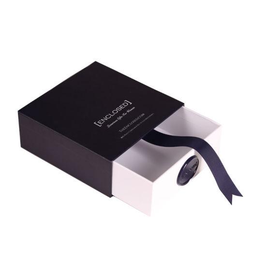 Custom Luxury Rigid Cardboard Drawer Gift Box