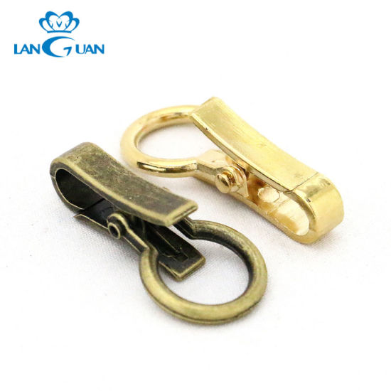 14mm Antique Brass Snap Hook for Strap
