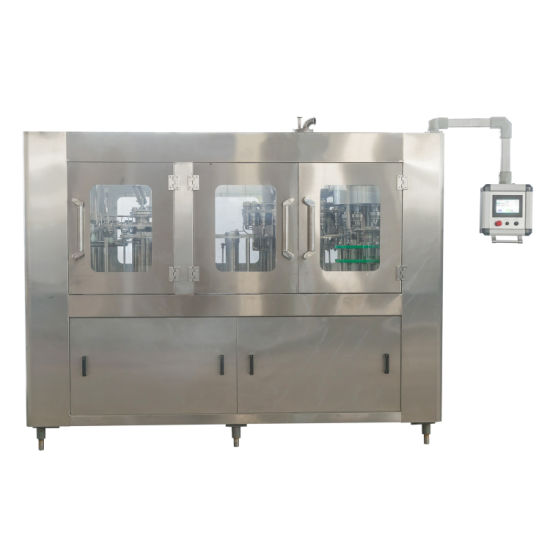 Automatic Packing Machine Liquid Fruit Juice Water Energy Drink Soda Filling Bottling Capping Machine with Ce UL