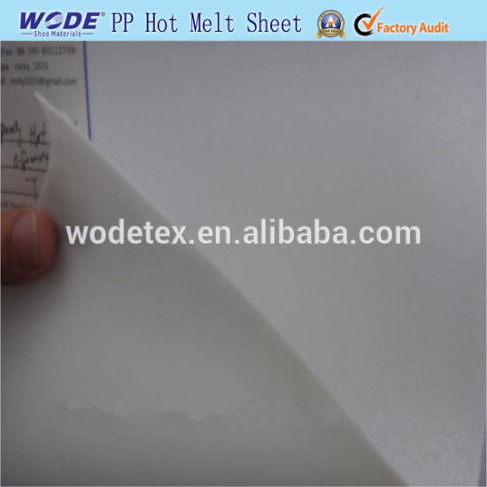 Ping Pong Hot Melt Sheet From Wodetex for Shoe Making