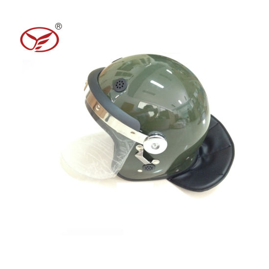 Hot Sale Outdoor Combat Police Full Protection Anti Riot Helmet