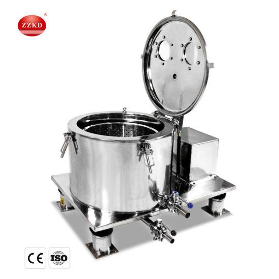 Hemp Oil Ethanol Extraction Filter Centrifuge
