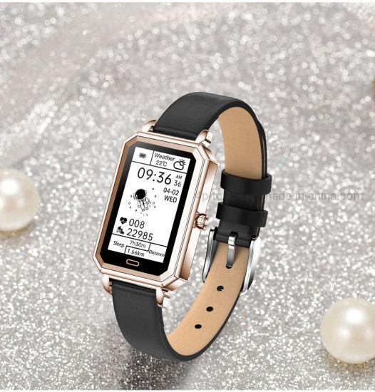 IP68 Waterproof Fashion Sport Healthcare Watch Smart Bracelet with Pill Reminder HT2