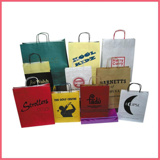 China Printed Paper Paper Carrier Bag Manufacturer