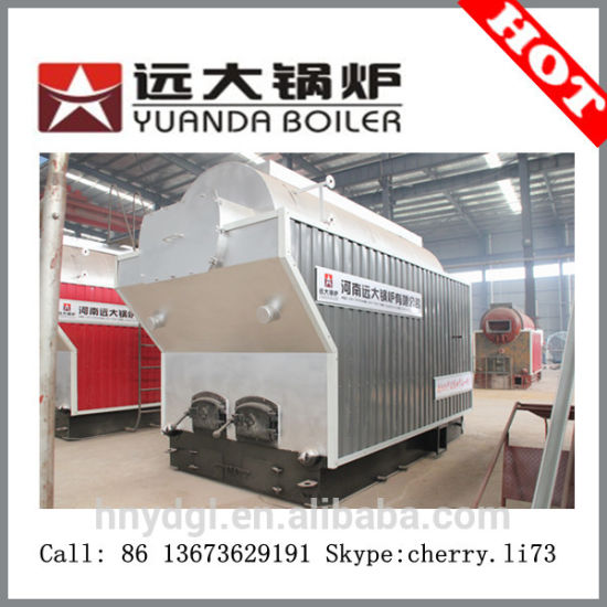 China DZH4-1.25-T water tube wood fired steam boiler/furnace ...