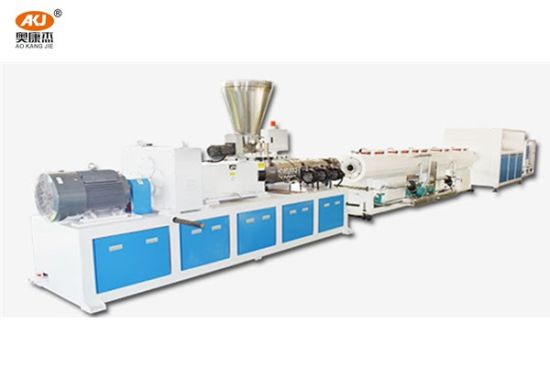 22-33D Ksj80 Automatic Single Screw Extruder for PP/PE/PVC/PS/PC and etc. Material Extruding, Granulating and Piping