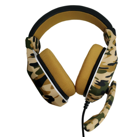 Wholesale Best 3.5mm Over-Ear Stereo Game Headphones for PC/PS4 Soft Earmuff