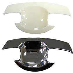 White Plastic Parts for Electronic Covers