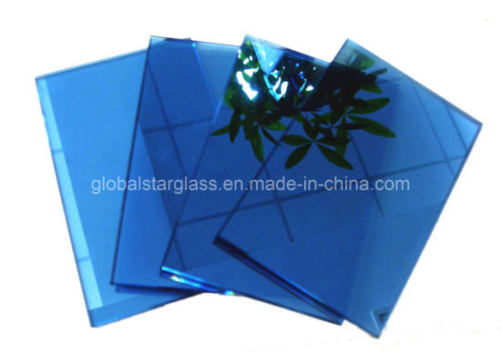 Tinted/Dark Blue/Dark Green/Bronze/Clear/Golden/Pink/Dark Grey/Euro Grey/Ford Blue/Light Green Reflective Float Glass pictures & photos