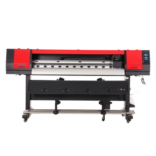 Digital Inkjet Eco Solvent Printer with One Printhead for Photo Paper Printing