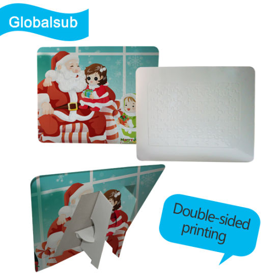 China Blank Funny Photo Puzzle Frame for Dye Sublimation Print ...