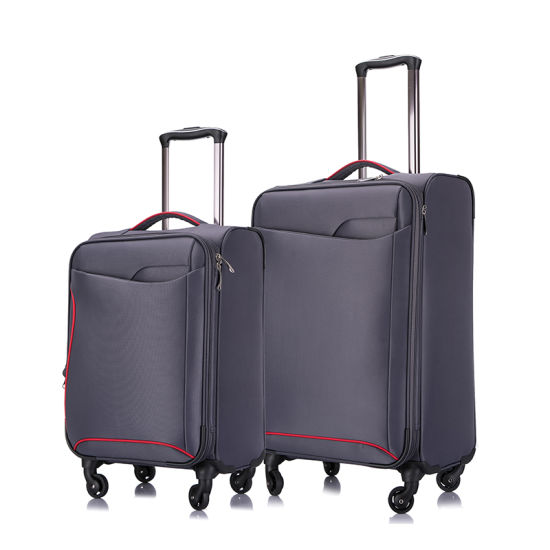 New Design Soft Luggage Trolley Set High Quality pictures & photos
