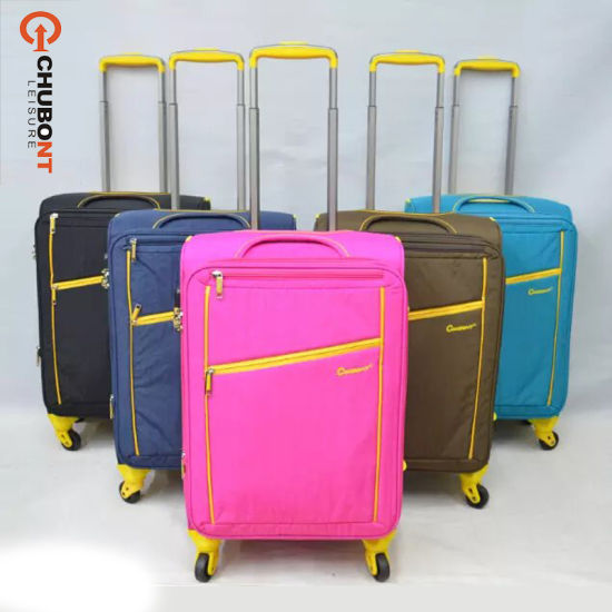6260e4f4c264 Chubont Fashion Washing Cloth Material 150d Lining Wheeled Luggage Bags