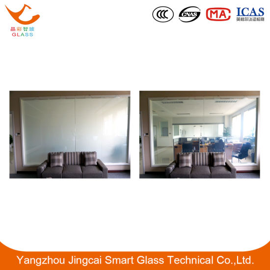 New Product Electronic Smart Laminated Glass with High-Tech for Partition/Shower Room