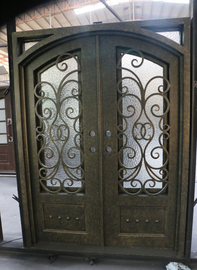 China Competitive Price Steel Security Front Iron Entry Door China
