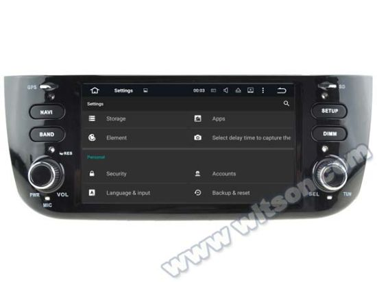 Witson Android 5.1 Car DVD GPS for FIAT Linea New with Chipset 1080P 16g ROM WiFi 3G Internet DVR Support (A5594) pictures & photos
