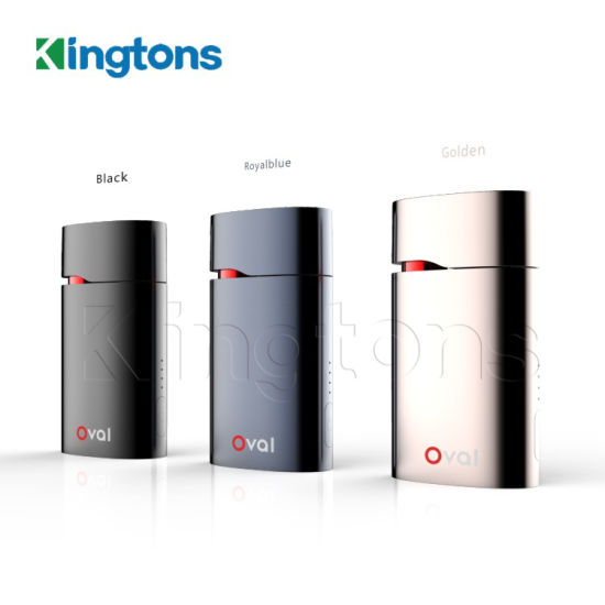 New Products Kingtons Dry Herb Oval Vaporizer Black Cigarette Price in India