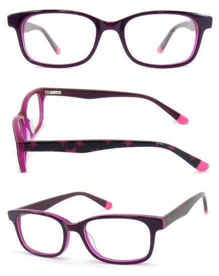 Good Quality New Design Kids Acetate Optical Comfortable and Soft Optical Frame Acetate