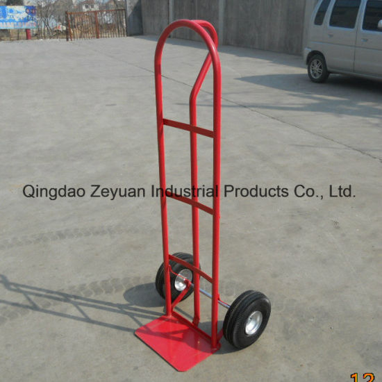 Industrial Garbage Pallet Truck Trailer Dolly Hand Trolley pictures & photos