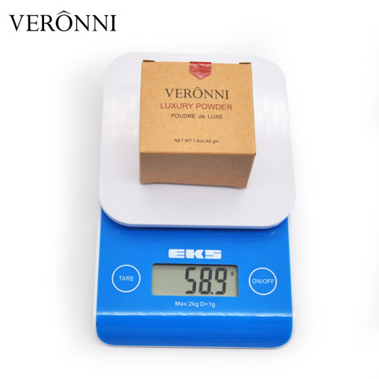 VERONNI Beauty Product Face Powder Foundation Makeup Long Lasting Oil-control Natural 4 Colors Loose Powder Cosmetic 56.5g pictures & photos