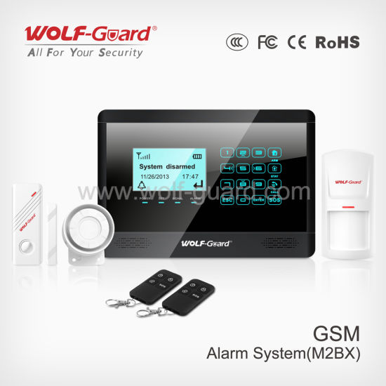 Self Monitoring Wireless Alarm With Touch Keypad Yl 007m2bx
