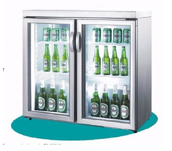Made in China Glass Door Refrigerator pictures & photos