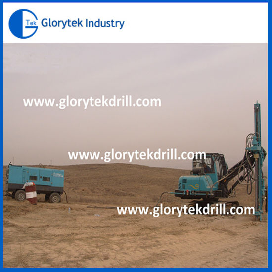 DTH Rock Drilling Rig Crawler Hard Rock Drill Rig pictures & photos