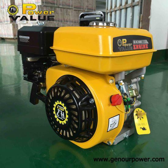 China High Quality 4 Stroke 200cc Engine Mini Gasoline Engine For