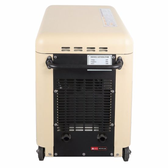 Air Cooled Silent Diesel Generator with Optional Spare Parts pictures & photos